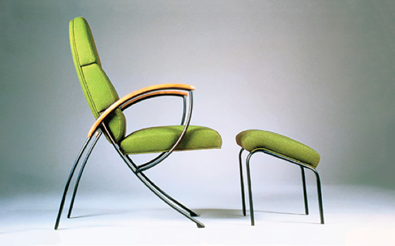 Images of America Green Monty Chair