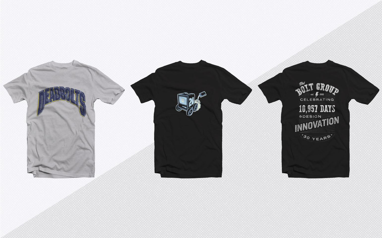 BOLTGROUP T-Shirt Designs