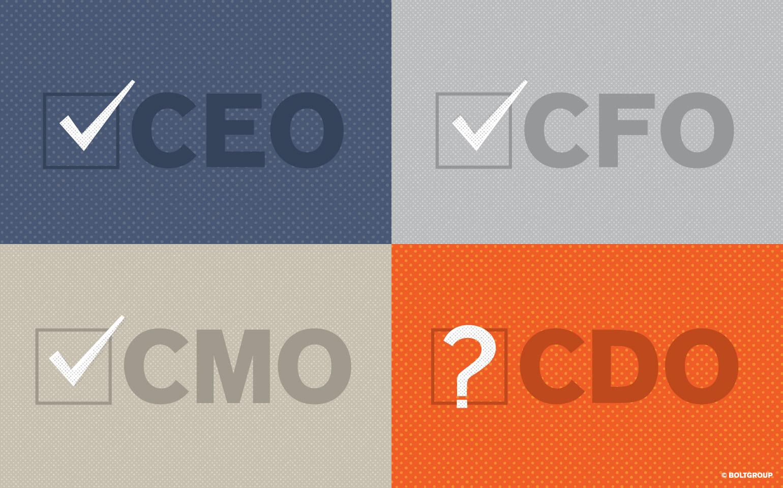 Illustration of CEO CFO CMO CDO