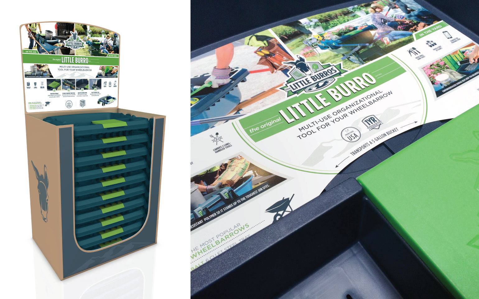 Little Burros Retail Packaging