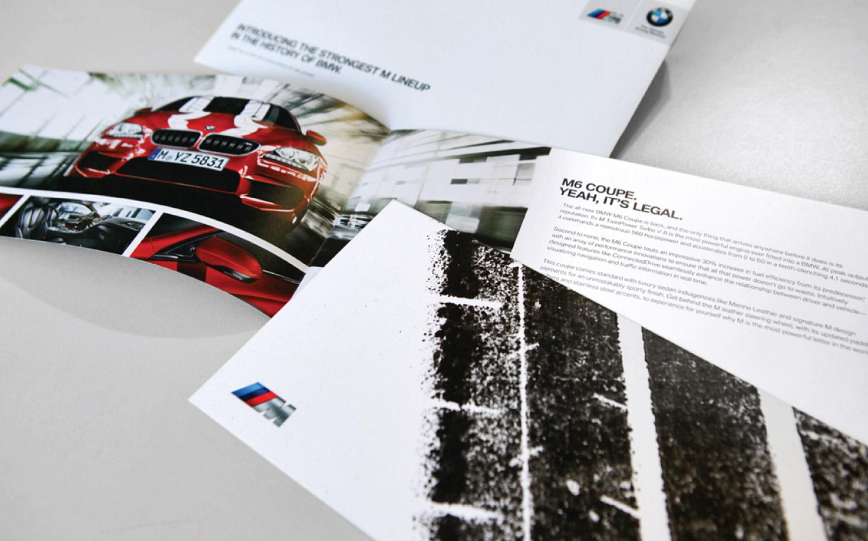 BMW M series brochure