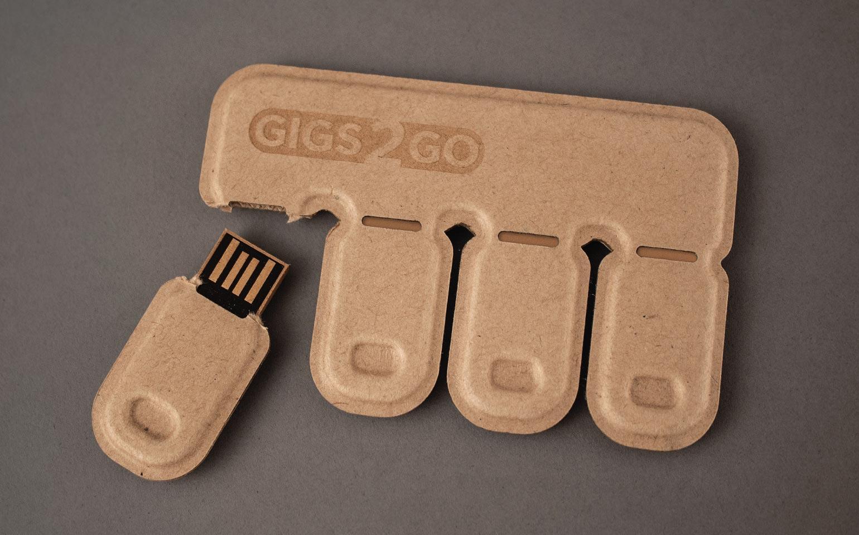 Gigs 2 Go USBs