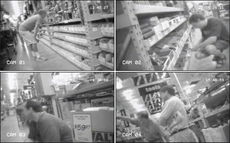 hidden video camera in Lowe's