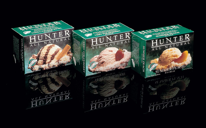 Hunter All Natural Ice Cream