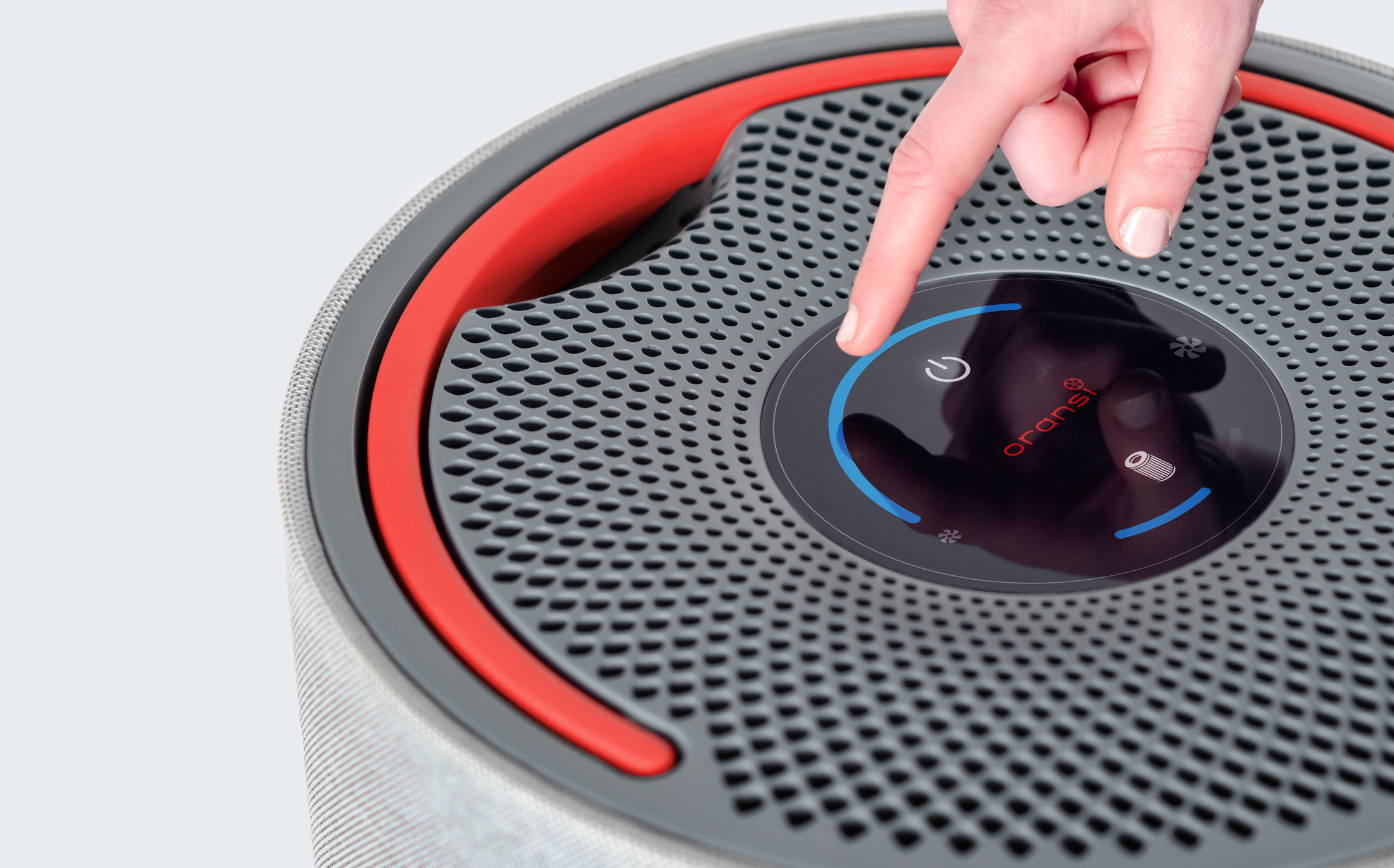 Oransi mod air purifier control panel