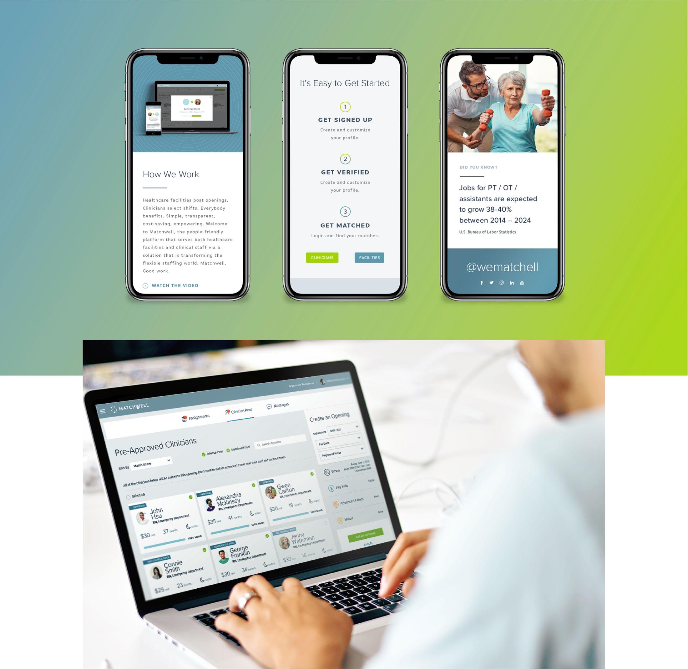 Matchball digital platform examples