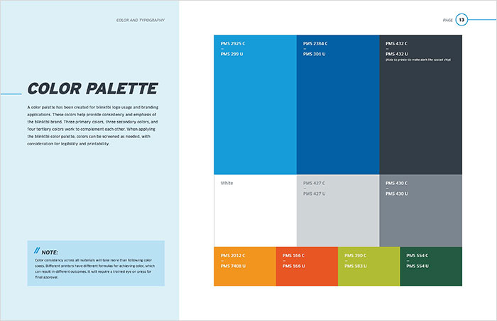 blinktbi brand standards color palette