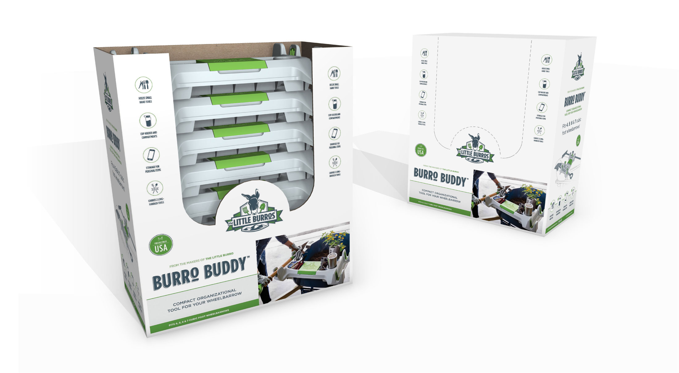 Burro Buddy shipper and store display