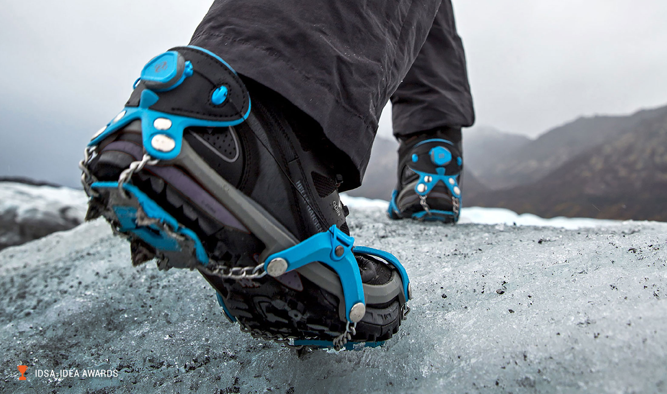 Yaktrax Summit Product In Use