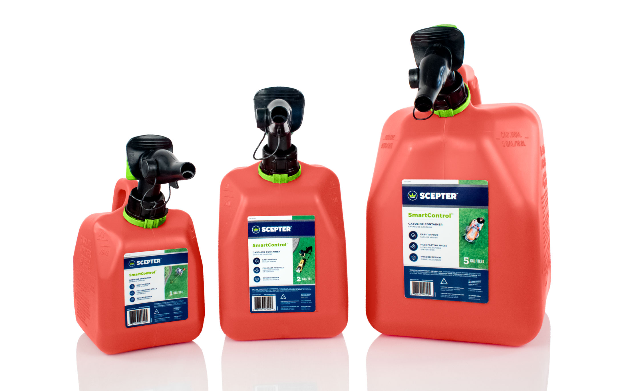 Scepter Gas Can Family