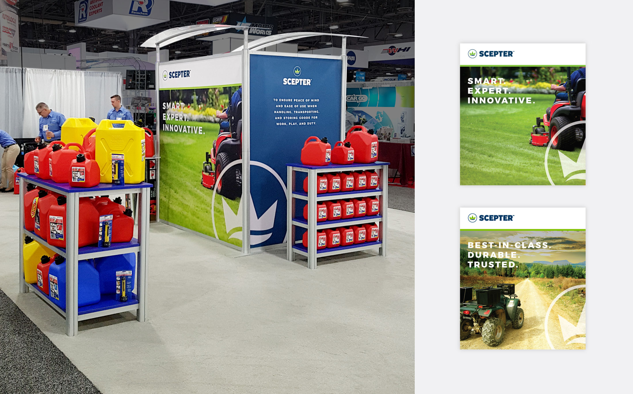 Scepter Tradeshow Booth